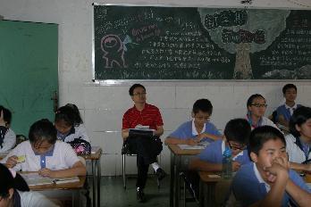 区教研中心到翠园中学初中部指导教学工作图片