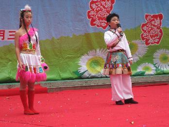 [图片8]藏族歌曲《卓玛》-水库小学举行 多才多艺缤纷新年 庆元旦文艺
